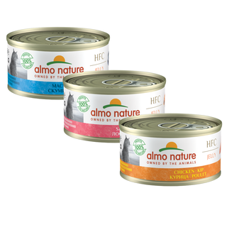 Almo Nature Cat HFC Wet Food - Jelly - 24 x 70g