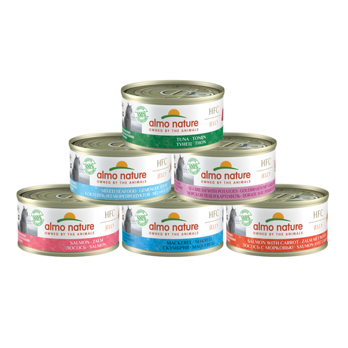 Almo Nature Almo Nature Katze HFC Nassfutter - Jelly - 24 x 70g