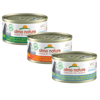 Almo Nature Katze HFC Nassfutter - Complete - 24 x 70g