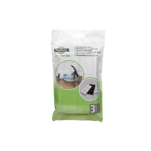 PetSafe® PetSafe® Litter Box Replacement Carbon Filters - 3-Pack