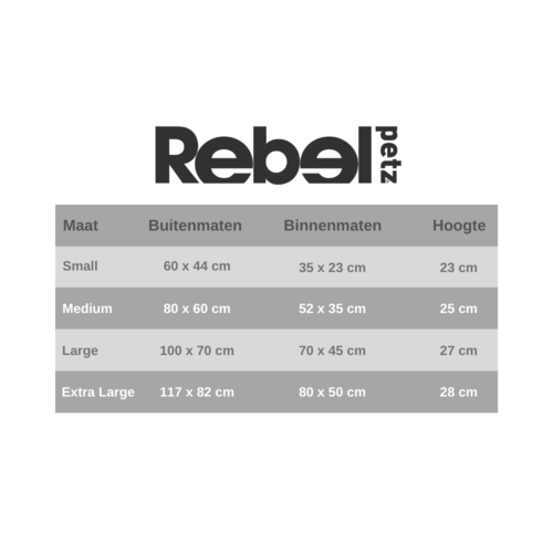 Rebel Petz Rebel Petz Box Bed