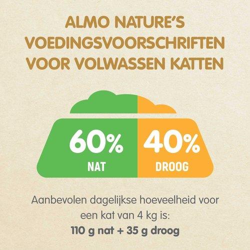 Almo Nature Almo Nature Kat Bio Organic Natvoer - Kuipje  - 19 x 85g