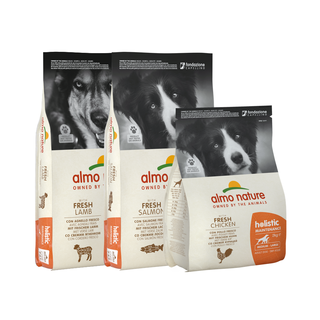 Almo Nature Hond Holistic Dry Food for Medium  &  Large Breed Dogs - Maintenance - M/L