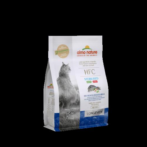 Almo Nature Almo Nature Cat HFC Dry Food - Longevity - Sterilised