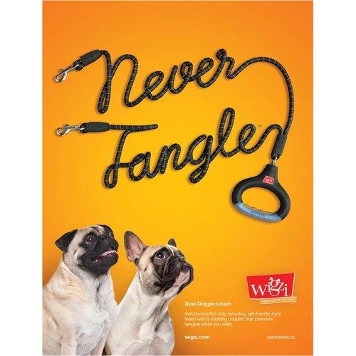 Wigzi Wigzi Dual Doggie Gel Leash with Lights