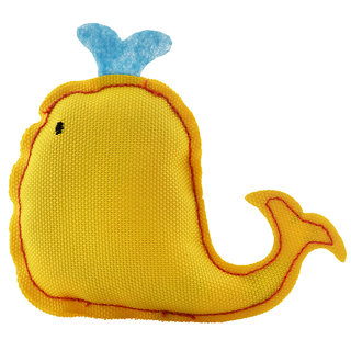 Beco Plush Catnip Toy -Whale