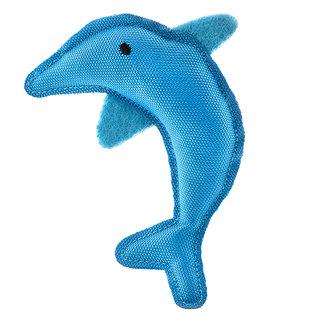 Beco Plush Catnip Toy - Dolphin