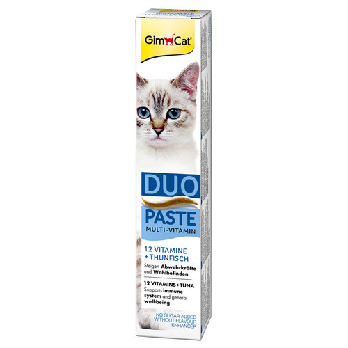Gimpet GimCat Duo Pasta Multi-Vitamin 12 Vit 50g