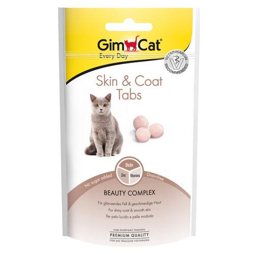 Gimpet GimCat Skin & Coat Tabs 40g