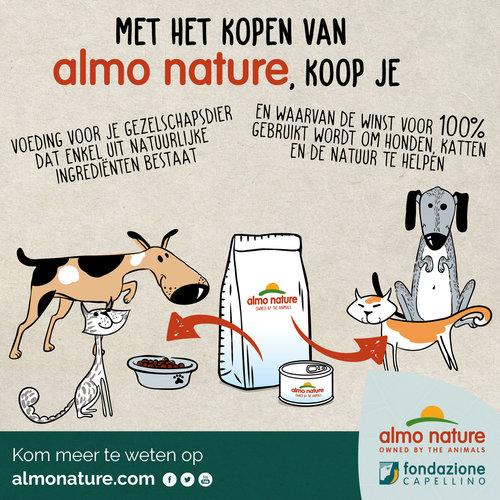 Almo Nature Almo Nature Hond HFC Droogvoer voor Kleine Hondenrassen - Longevity - XS/S