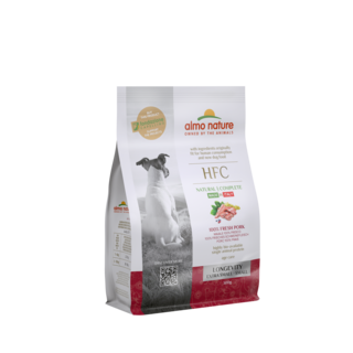 Almo Nature Hond HFC Dry Food for Small Breed Dogs - Longevity - XS/S
