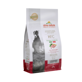 Almo Nature Hond HFC Dry Food for Medium  &  Large Breed Dogs - Longevity - M/L
