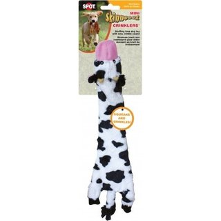 Skinneeez Farm Plush Cow