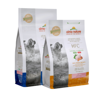 Almo Nature Hond HFC Dry Food Small Dog Breeds - Puppy - XS/S