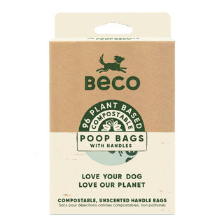 Beco Poop Bags Compostable Handles (96)