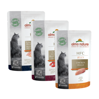 Almo Nature Cat HFC Wet Food - Jelly - Pouch  24 x 55g
