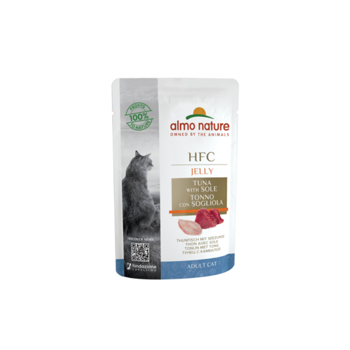 Almo Nature Almo Nature Kat HFC Natvoer - Jelly - Pouch 24 x 55g