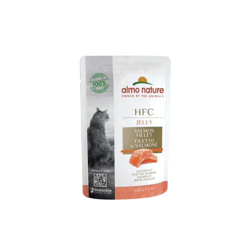 Almo Nature Almo Nature Cat HFC Wet Food - Jelly - Pouch  24 x 55g