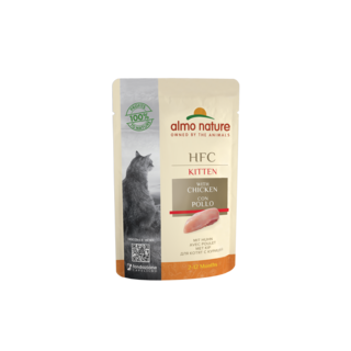 Almo Nature Cat HFC Wet Food - Kitten - Pouch  24 x 55g