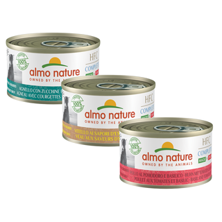 Almo Nature Dog HFC Wet Food Made in Itally - Complete -  24 x 95g