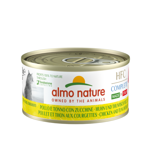 Almo Nature Almo Nature Cat HFC Wet Food - Complete - Made in Italy - 24 x 70g