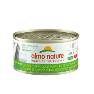 Almo Nature Cat HFC Wet Food - Complete  Adult 7+ - Made in Italy - 24 x 70g