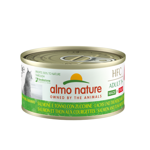 Almo Nature Almo Nature Cat HFC Wet Food - Complete  Adult 7+ - Made in Italy - 24 x 70g