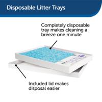 PetSafe® PetSafe® ScoopFree® Replacement Blue Crystal Litter Tray (3-Pack)