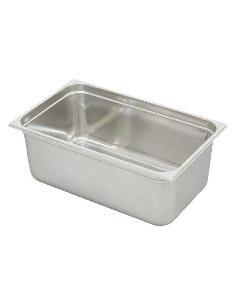 Ronda G/N stainless steel container Uitw. afm. : 530x325 mm