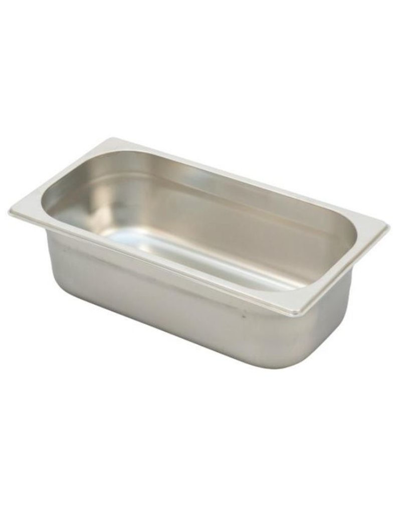 Ronda G/N stainless steel container Uitw. afm. : 325x176 mm
