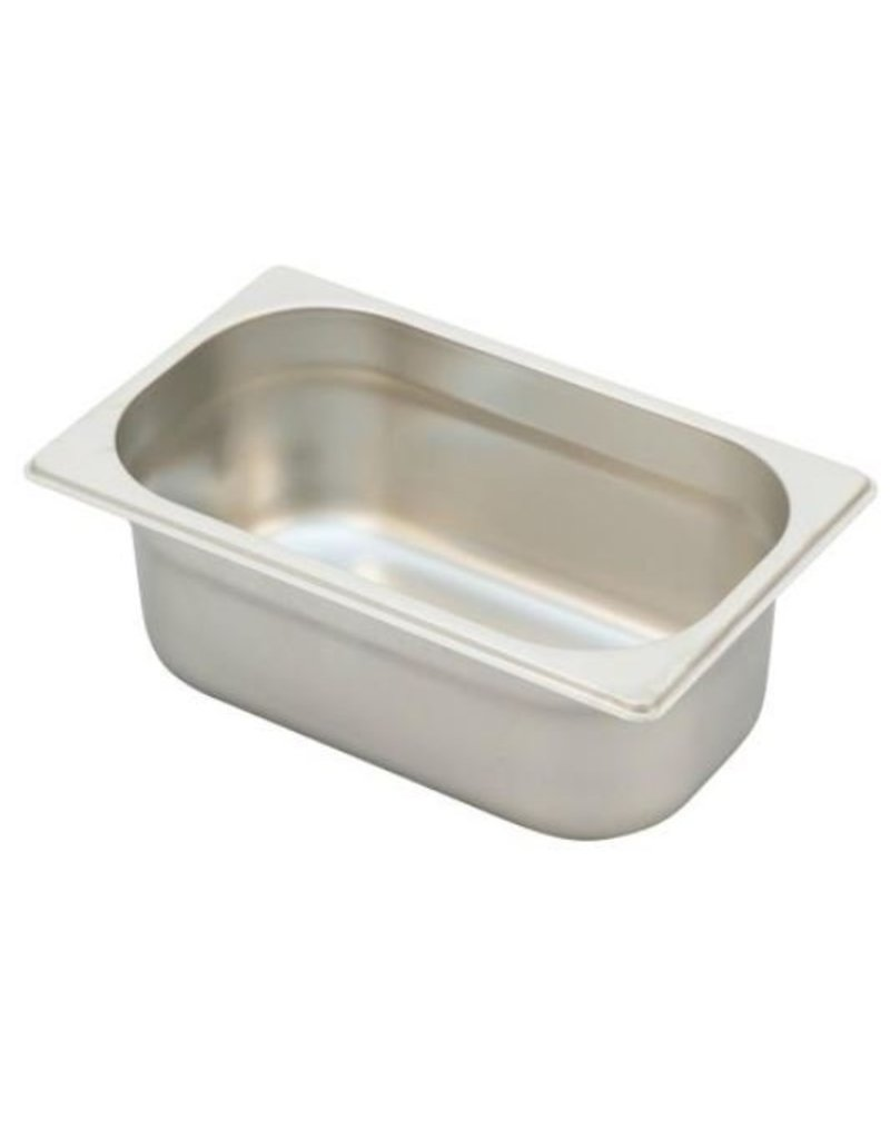 Ronda G/N stainless steel container Uitw. afm. :265x162 mm