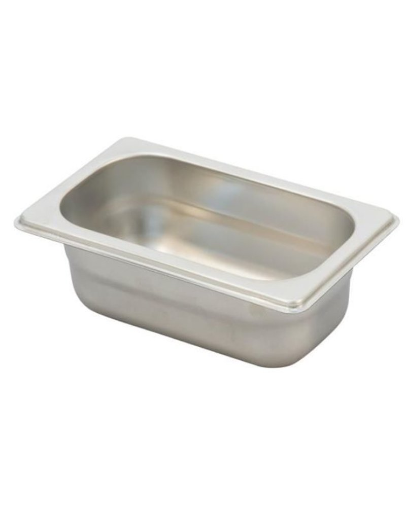 Ronda G/N stainless steel container Ext. afm. :176x108mm