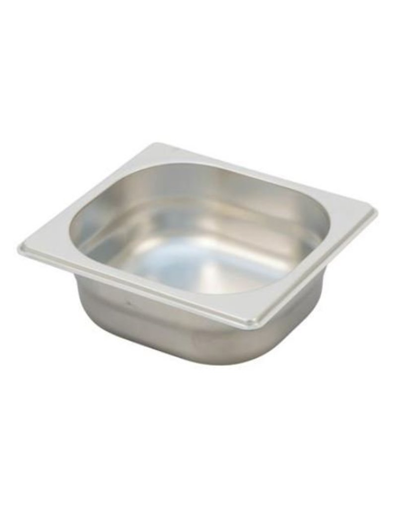 Ronda G/N stainless steel container Ext. afm. :176x162mm
