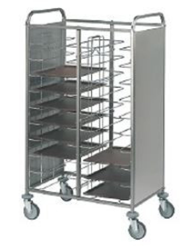 Sea Biscuit Clean out chariot trays 2x12 Tray Capacity