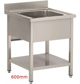 Sea Biscuit Stainless Steel Sink 1 sink 600mm
