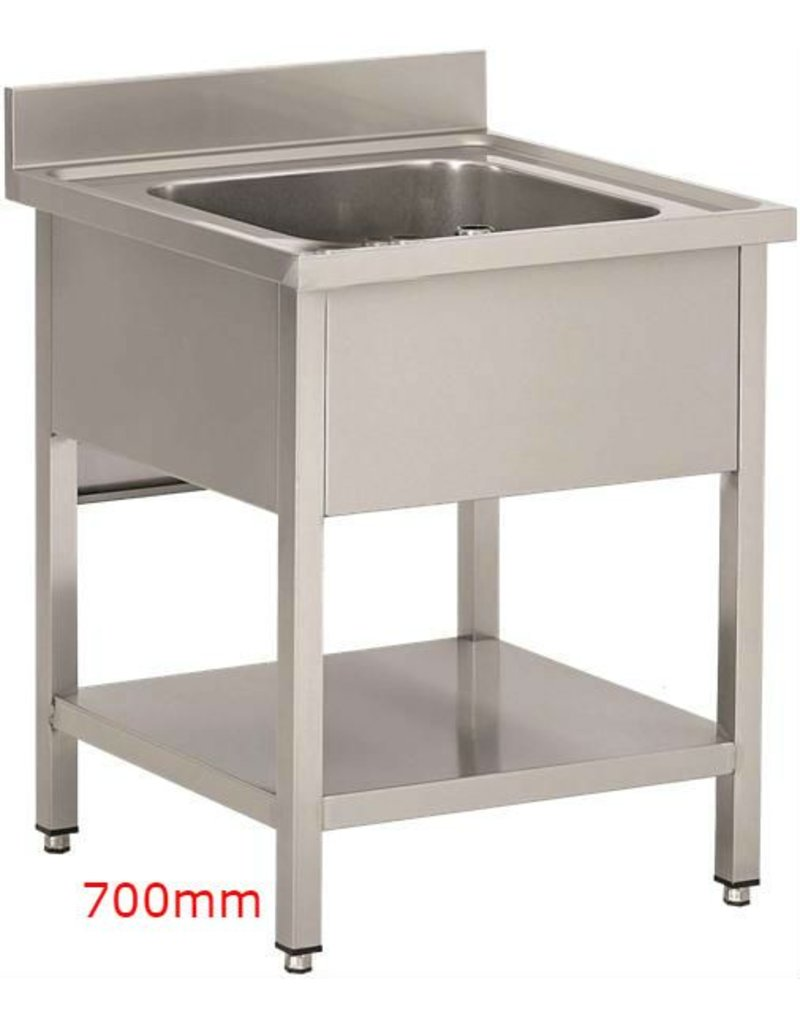 Sea Biscuit Stainless Steel Sink 1 sink 700mm