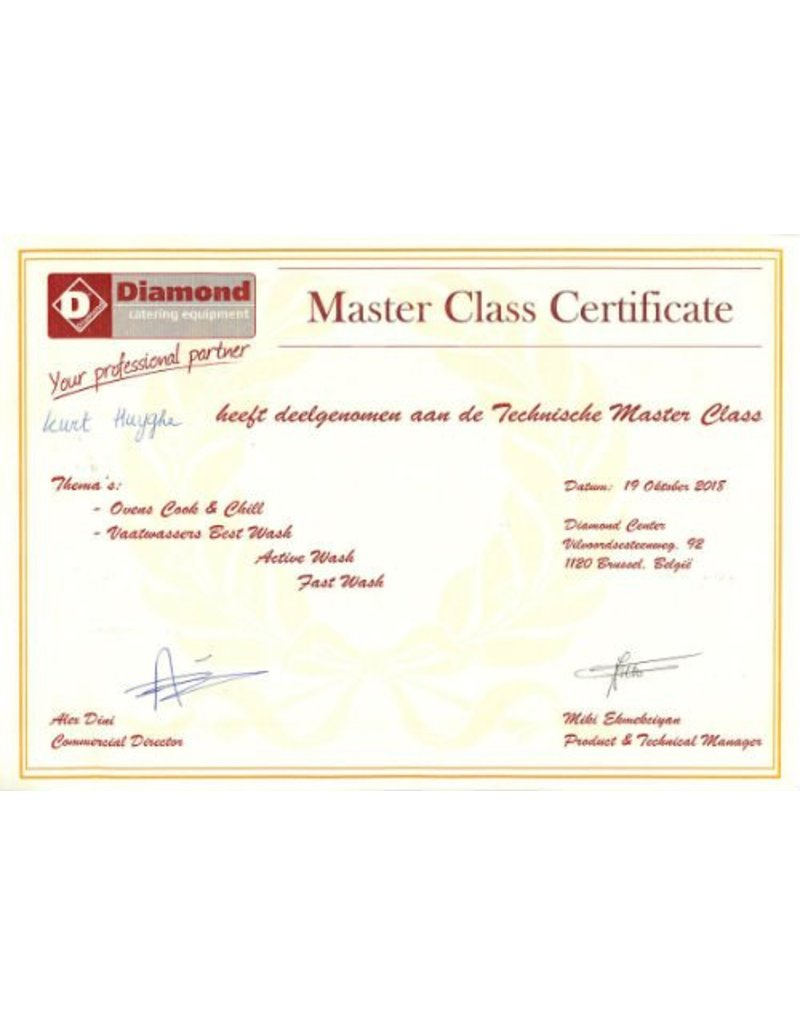 "diamond Model 04D/6S Vaatwasser Korven 600X500mm, bakplaten 600x400 CROSSOVER, ""Full-Hygiè"