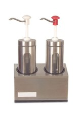 Fricosmos Sauce dispenser 2x  2000ml