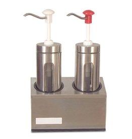 Fricosmos Sauce dispenser dubbel