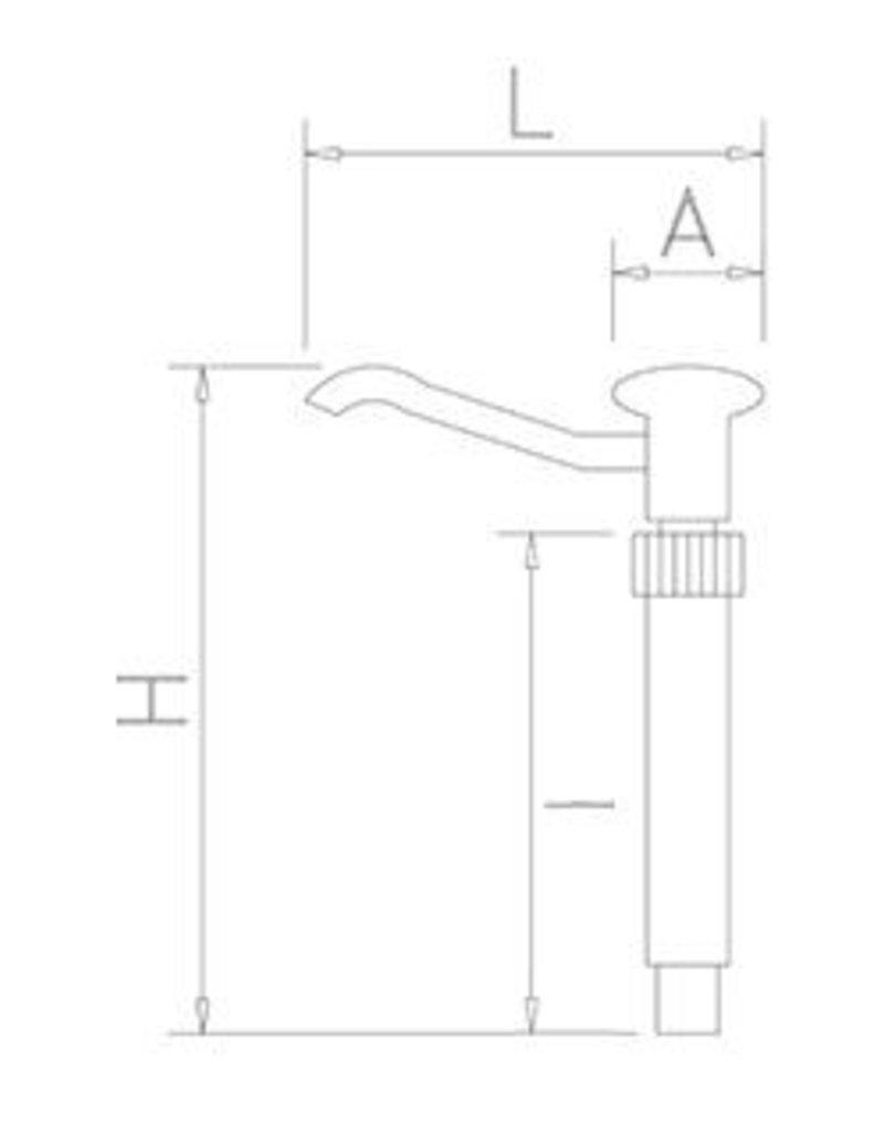 Fricosmos Sauce dispenser pump