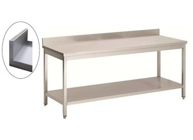 Furnishing in stainless steel