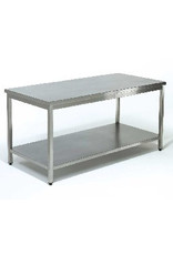 Sea Biscuit Working table with 1 Bottom Shelf  700 / 2000mm x600x850mm