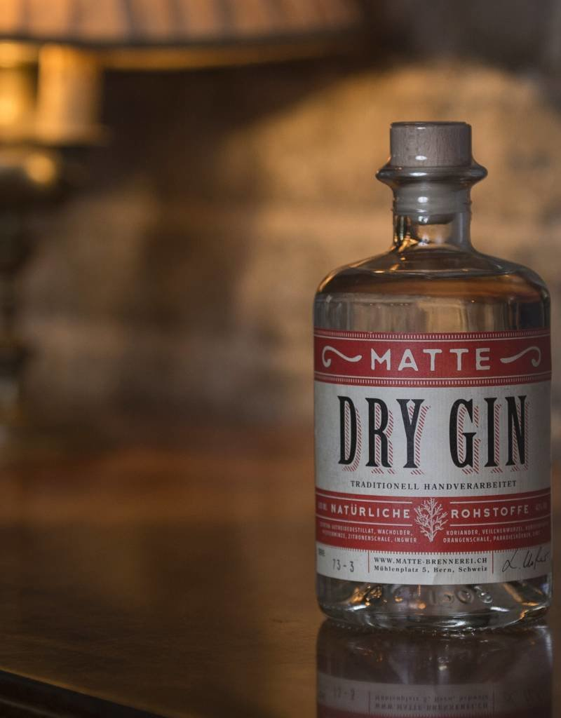 Matte Dry Gin, 50 cl