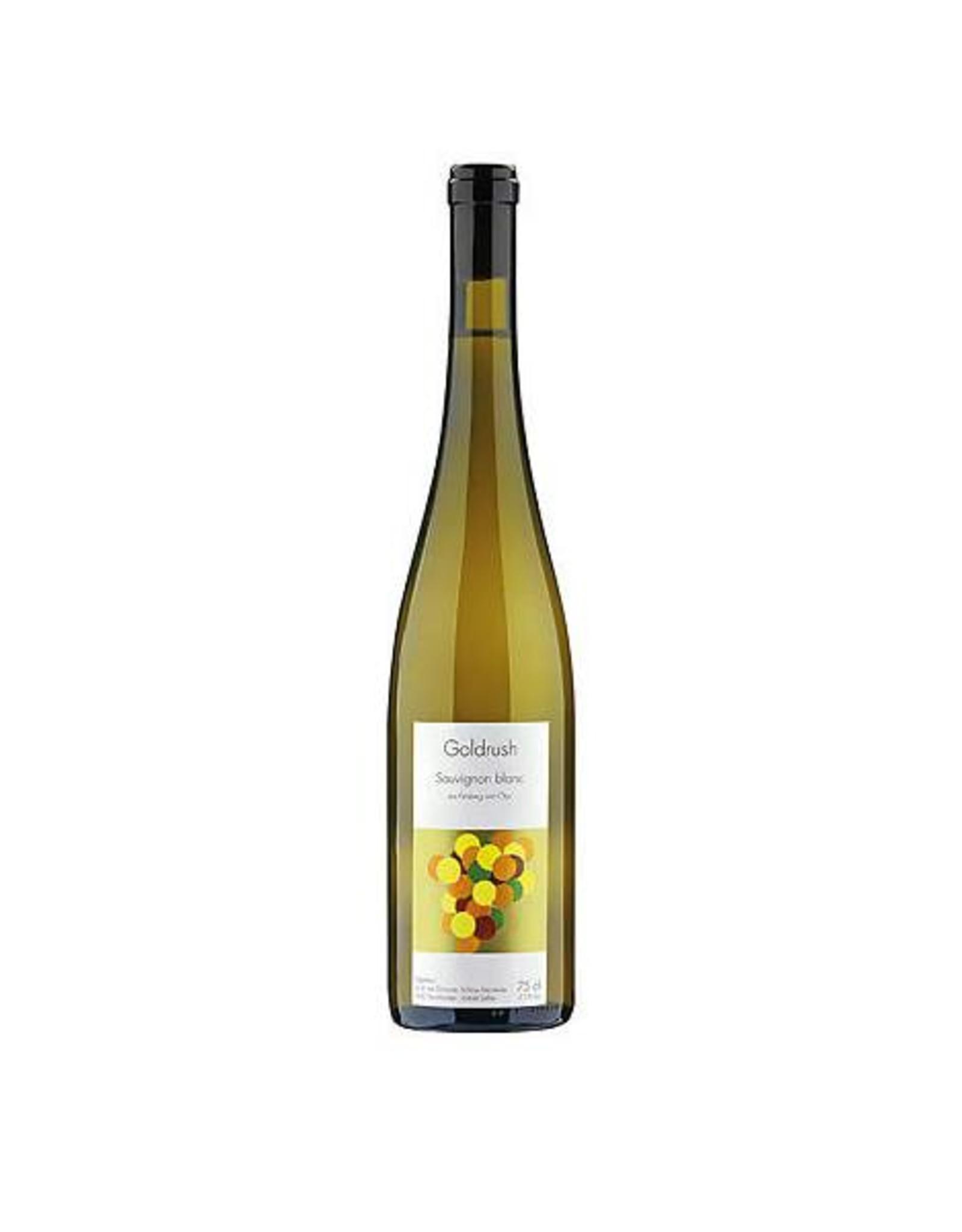 Weinbau von Tscharner, AOC Graubünden, Sauvignon blanc aus Felsberg und Chur Goldrush