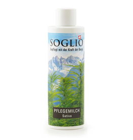 SOGLIO Pflegemilch Sativa, 200 ml