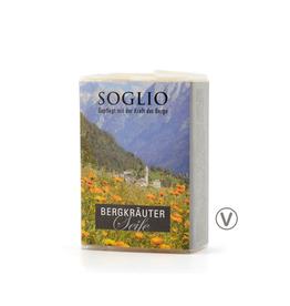 SOGLIO Bergkräuter-Seife, 95 g
