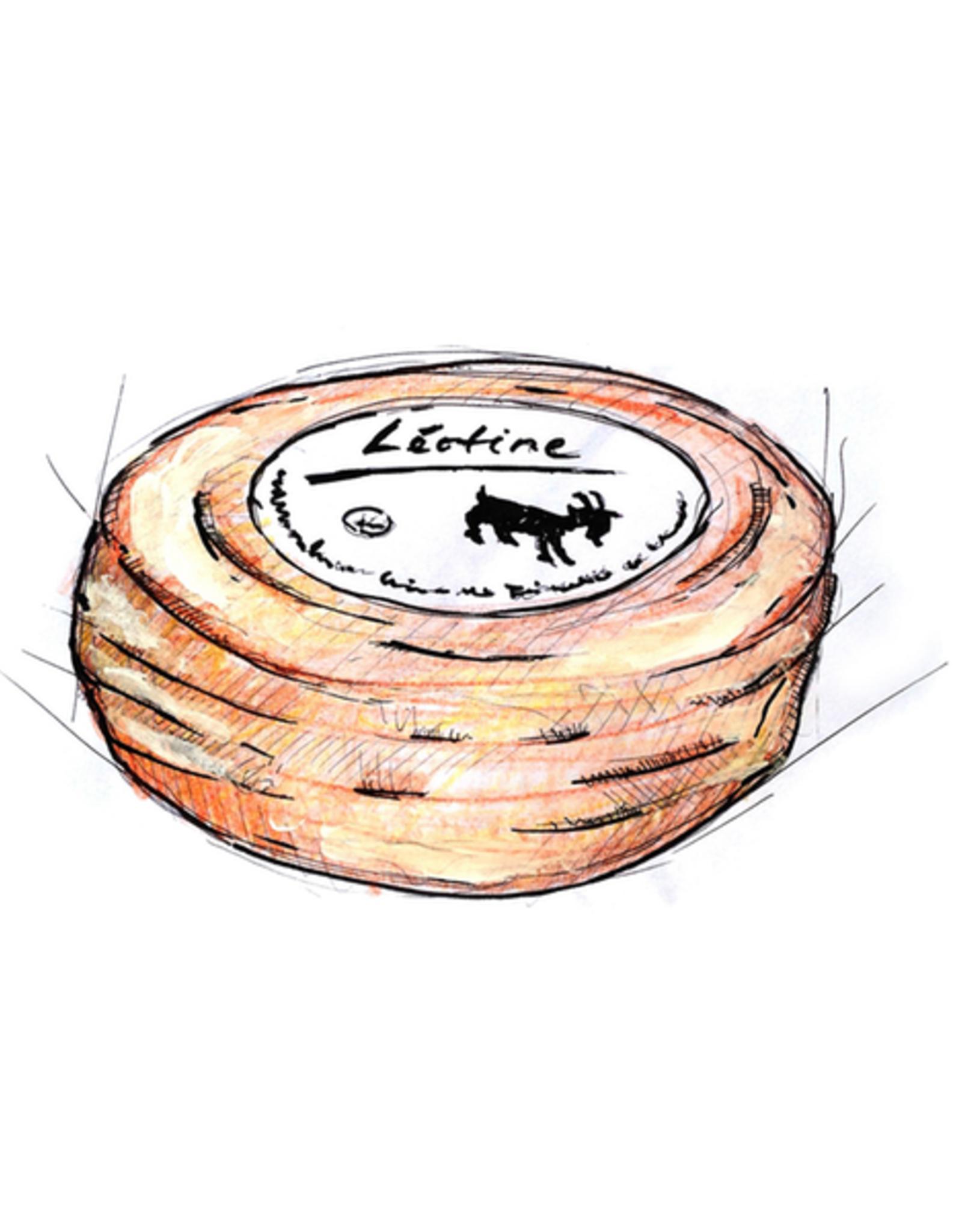 Léotine, 180 g - Weissschimmelkäse aus Ziegenmilch