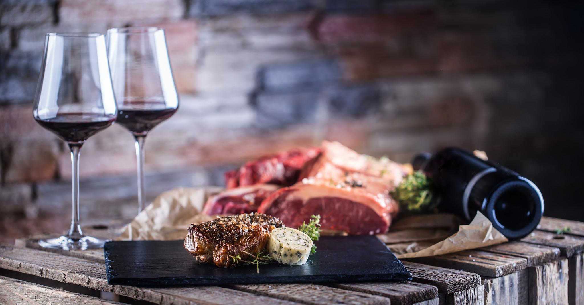 Wein & Fleisch