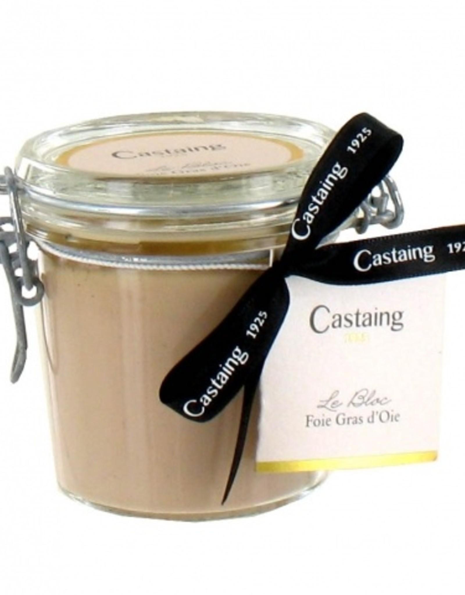 Castaing, Bloc de Fois Gras, 180 g - im Glastopf