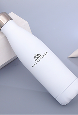 Trinkflasche Shiny White - 500 ml